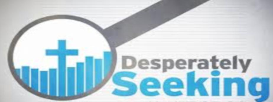 Desperately Seeking