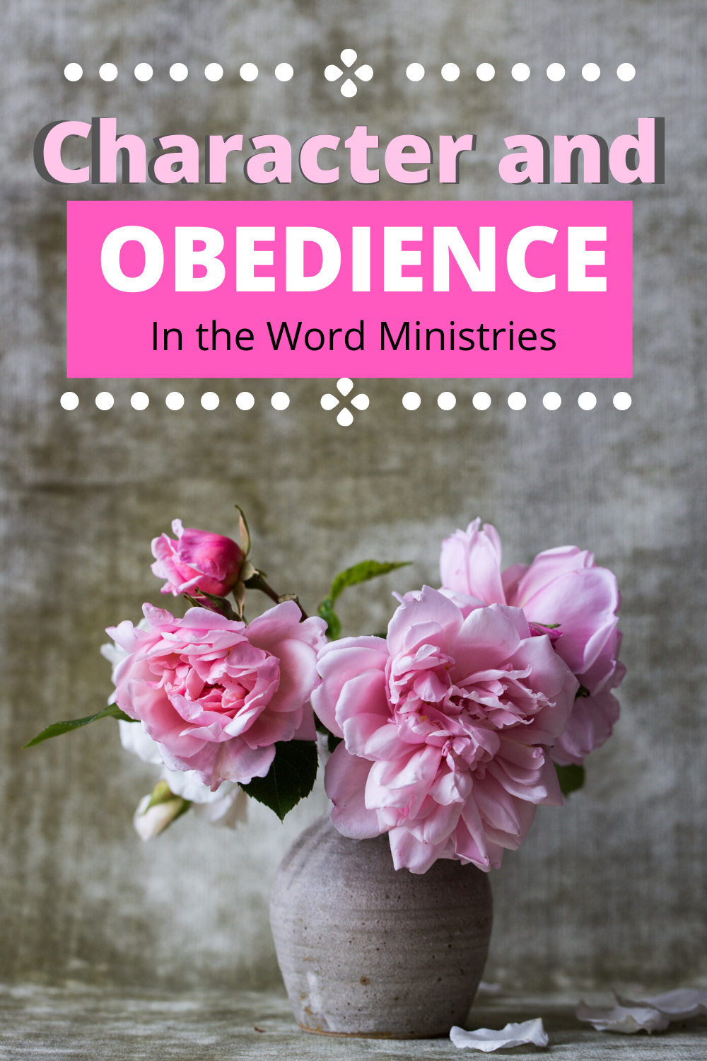 A thought on obedience for Christians