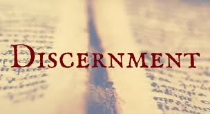 Image of Discernment text